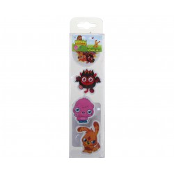Erasers Set (4 Pack) - Moshi Monsters