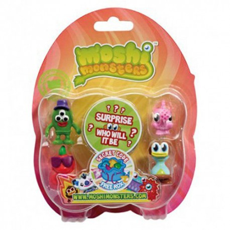 Moshling Figures Series 6 Blister Pack - Moshi Monsters