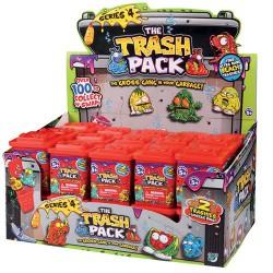 2 Trashies In Bin - Trash Pack Series 4