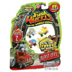4 Trash Wheels Series 2 Rat Racers - Trash Pack