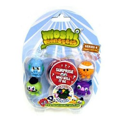 Moshling Figures Series 4 Blister Pack - Moshi Monsters