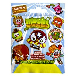 Moshlings Figures - Series 4 - Foil Pack - Moshi Monsters