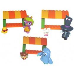 Mini Action Figure + Moshling Zoo Set - Moshi Monsters